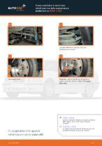 Come sostituire la barra/asta stabilizzatrice della sospensione posteriore su BMW 3 E36