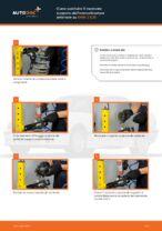 Come sostituire il montante supporto dell'ammortizzatore anteriore su BMW 3 E36