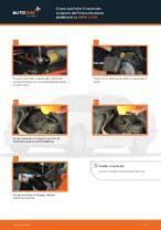 Come sostituire il montante supporto dell'ammortizzatore posteriore su BMW 3 E36