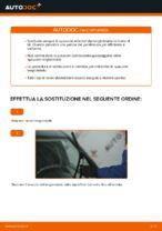 Come sostituire le spazzole anteriori del tergicristallo su FIAT PUNTO 188