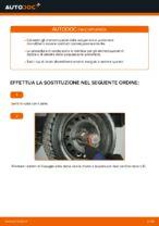 FIAT PUNTO Ammortizzatori sostituzione: tutorial PDF passo-passo