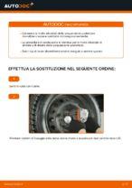 Come sostituire le molle della sospensione posteriore su FIAT PUNTO 188
