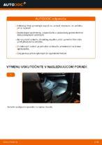 príručka údržba a opravy