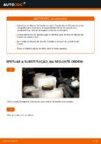 PDF manual sobre manutenção de AURIS