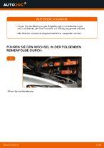 Wechseln von Motorluftfilter Instruktion PDF für VOLVO V50