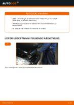 Skifte Bremseklodser MERCEDES-BENZ A-CLASS: værkstedshåndbog