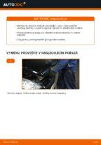 Jak vyměnit přední brzdové destičky kotoučové brzdy na Mercedes-Benz W169