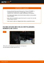 PDF Wechsel Anleitung: Bremsscheibe CITROËN C1 (PM_, PN_) hinten und vorne