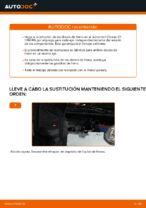 Cómo cambiar y ajustar Disco de freno CITROËN C1: tutorial pdf
