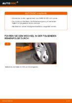 BMW Radlagersatz hinten rechts links wechseln - Online-Handbuch PDF