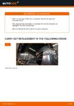 Replacing Suspension springs LEXUS RX: free pdf