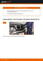 Hvordan skifte fremre bremsekaliper på BMW X5 E53