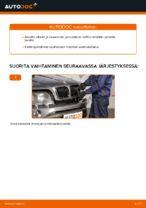 Kuinka vaihtaa etu-jarrusatula BMW X5 E53 malliin