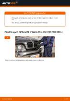 Kako zamenjati sprednje zavorno čeljusti na BMW X5 E53