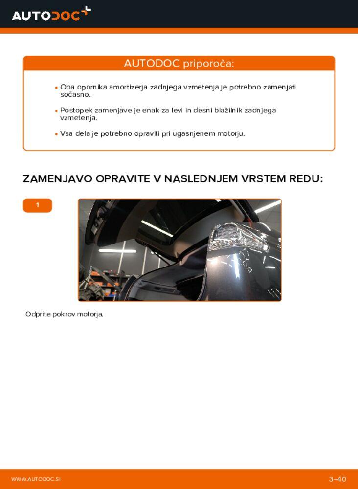 Kako izvesti menjavo: Blazilnik na 3.3 400h AWD Lexus RX XU30