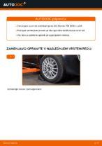 Navodila za vzdrževanje ALFA ROMEO pdf