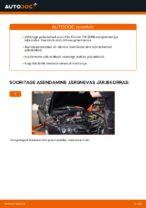 ALFA ROMEO hooldus - juhend pdf