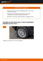 ALFA ROMEO Stoßdämpfer Satz Gasdruck wechseln - Online-Handbuch PDF