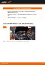 PDF guide för byta: Bromsklossar ALFA ROMEO bak och fram