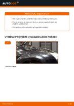 Jak vyměnit vzpěru předního tlumiče na autě Ford Focus 2 DA