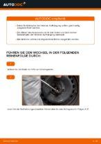 Wie Sie die hintere Aufhängung der Stoßdämpfer am Toyota Yaris P1 ersetzen