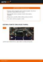 Sužinokite kaip išspręsti VW priekyje ir gale Valytuvo gumelė problemas
