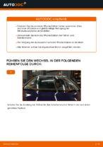 Wie Sie die vorderen Wischerblätter am VW Passat Variant 3C5 ersetzen