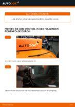 Wie Sie die hinteren Wischerblätter am VW Passat Variant 3C5 ersetzen