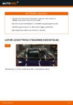 Hvordan man udskifter viskerblade i for på VW Passat Variant 3C5