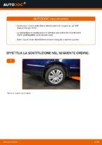 Come sostituire la barra stabilizzatrice posteriore su una VW Passat Variant 3C5