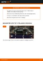 Så byter du främre vindrutetorkare på VW Passat Variant 3C5