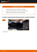 Automekaanikon suositukset VW Passat 3c 2.0 TDI 16V -auton Pyyhkijänsulat-osien vaihdosta
