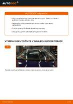 Ako vymeniť lištu predného stierača na aute VW Passat Variant 3C5