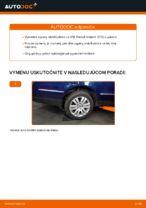 Ako vymeniť zadnú vzperu stabilizátora na VW Passat Variant 3C5