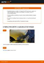 Kdy vyměnit Brzdovy buben TOYOTA YARIS (SCP1_, NLP1_, NCP1_): příručka pdf