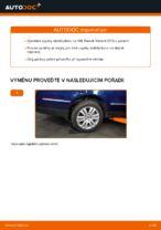 Jak vyměnit zadní vzpěru stabilizátoru na VW Passat Variant 3C5