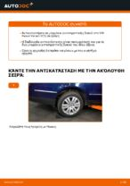 Πώς αντικαθιστούμε οπίσθιο μπαράκι αντιστρεπτικής δοκού σε VW Passat Variant 3C5
