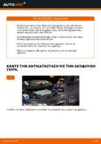 Βήμα-βήμα PDF οδηγιών για να αλλάξετε Δισκόπλακα σε VW PASSAT Variant (3C5)