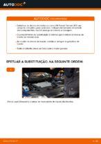 Mudar Discos de Travão VW PASSAT: manual técnico