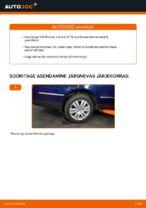 Kuidas asendada VW Passat Variant 3C5 tagumist stabilisaatorilüli