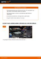 Kuidas asendada VW Passat Variant 3C5 tagumisi pidurikettaid