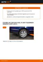 VW Stabistange hinten links selber auswechseln - Online-Anleitung PDF