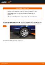 Hoe u de achterste stabilisatorkoppelstang van een VW Passat Variant 3C5 kunt vervangen