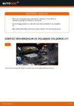 Hoe de achterste remblokken van schijfremmen vervangen op VW Passat Variant 3C5