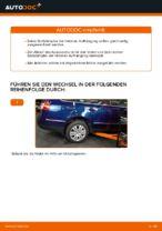 Wie Sie die hintere Aufhängung der Stoßdämpfer am VW Passat Variant 3C5 ersetzen