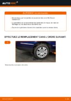 Comment remplacer le palier de moyeu arrière sur une VW Passat Variant 3C5