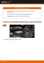 VW PASSAT Jarrupalat vaihto: ohjekirja