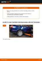 Kuinka vaihtaa taka-iskunvaimentimet VW Passat Variant 3C5 malliin