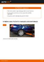 Ako vymeniť tlmiče zadnej nápravy na VW Passat Variant 3C5