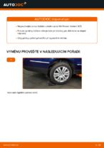 Vyměnit Lozisko kola VW PASSAT: dílenská příručka